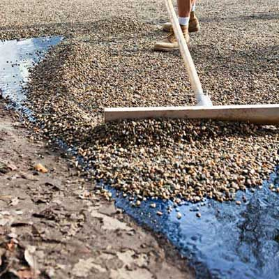 Tar And Chip Driveway Paving Commercial Residential